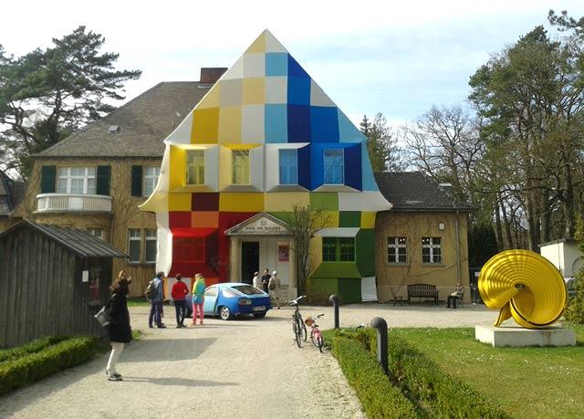 Farbe und Kunst Haus am Waldsee